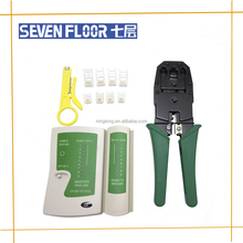rj45, rj11, Cat5 network tool kit bundle cable tester crimp Lan