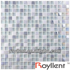 glass stone resin mixed mosaic