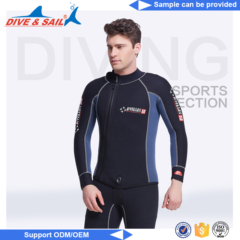 High quality top sale neoprene front zip new design top quality shorty neoprene triathlon wetsuit