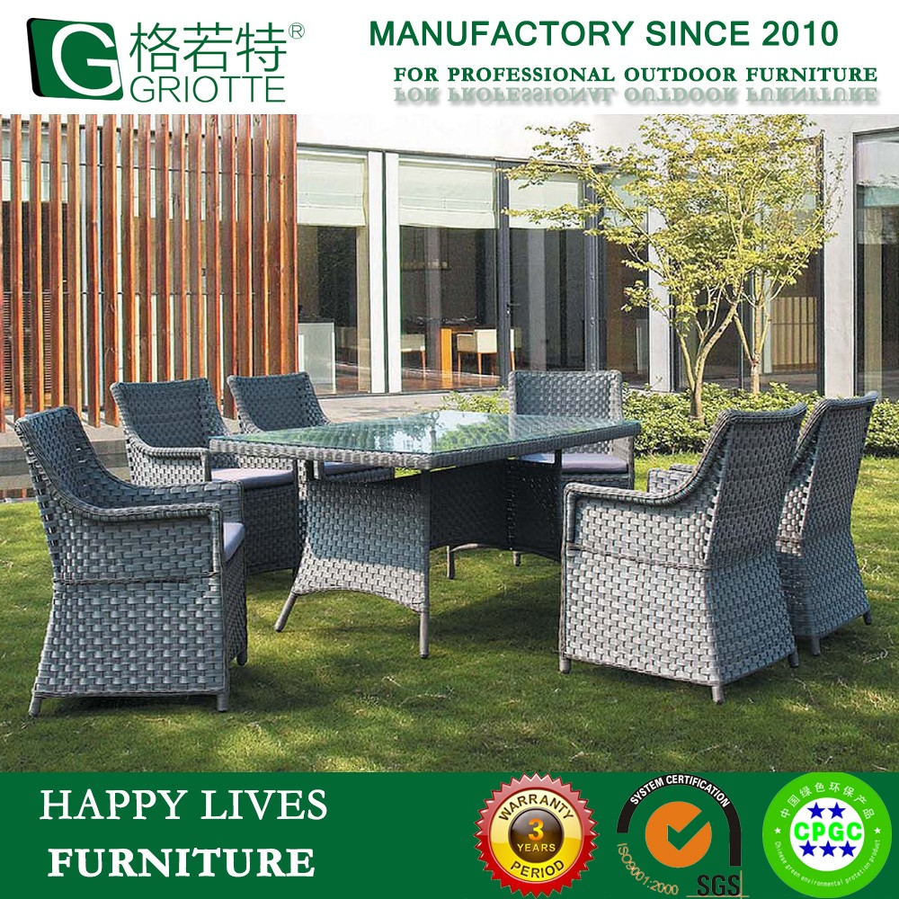 Olifen Waterproof Fabric Rattan Home Furniture HL-6022