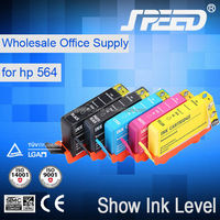 2015 New hot product compatible ink cartridge for hp 564 with chip with 7 day delivery time
