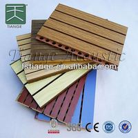 Soundproofing acoustic gypsum board ceiling,wooden acoustic wall panel,MDF Board