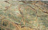 Top quality house decorative natural stone rainforest green marble slab