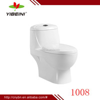 China alibaba Chaozhou ceramic bathroom siphonic one piece toilet