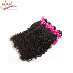 8A Curly weave original human hair extensions for african american