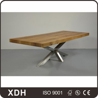 New design high quality cheap wooden home office desk