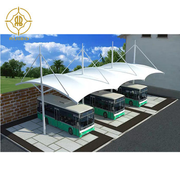 Tensile membrane structure for car parking,PTFE or PVDF car cover tent ,  car parking tents
