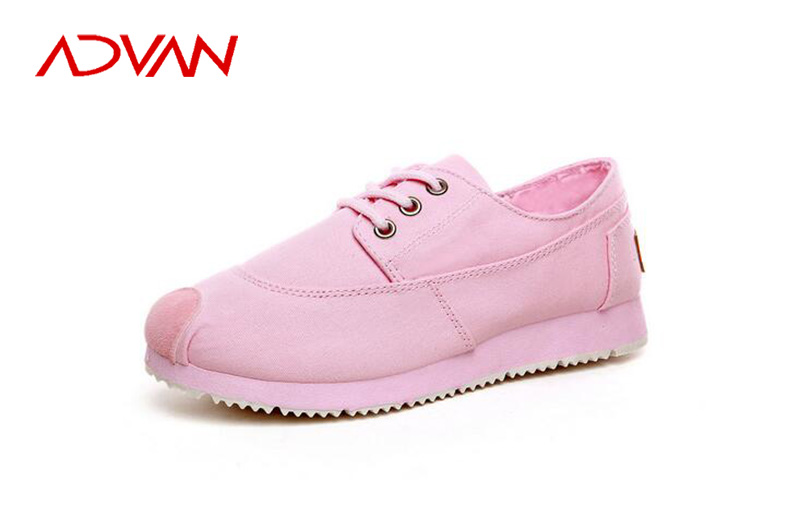 Beauty Pink Ladies Canvas Sneakers 2015 Sneakers Breathable Canvas Women Shoes