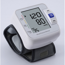 Automatic Large LCD Digital Wrist Blood Pressure Monitor wireless electronics bp machine