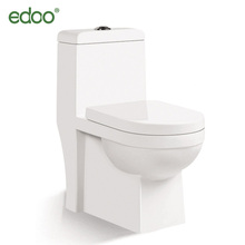 3.2L 4.8 L closestool Sanitary ware middle east design P-trap washdown one piece wc toilet bidet 200mm s-trap good price toilet