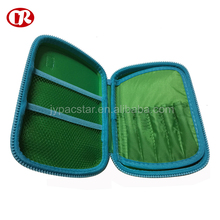 Green color large size packing pen portable students pencil case