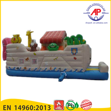 Promotion Amusement Park Equipments Inflatable pirate ship bounce house