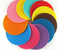 Silicone Material mats/pads table decoration silicone placemat custom accessories coaster