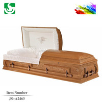 Paulownia wooden Burial American style casket