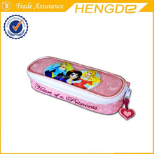 princess school stationery bag pencil case for children