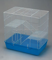 industrial colorful wire rabbit cage houses with plastic tray