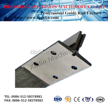 elevator guide rail for T78/B/T-type guide rail