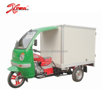 Cheap 250cc Cargo Tricycle Three Wheels Motorcycle With Cab and Cargo Box For Sale X-Tiger250