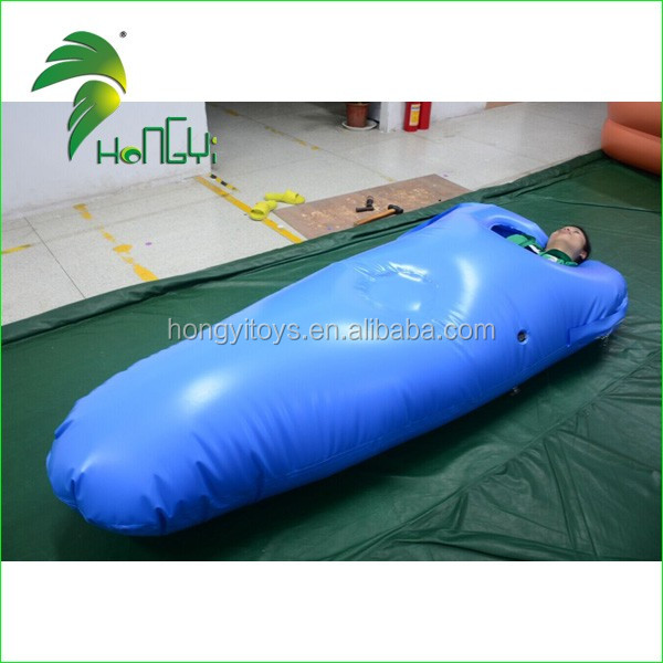 2017 Trending Products , Custom Double Layer PVC Air Sleeping Bag , Inflatable Bunk Bed