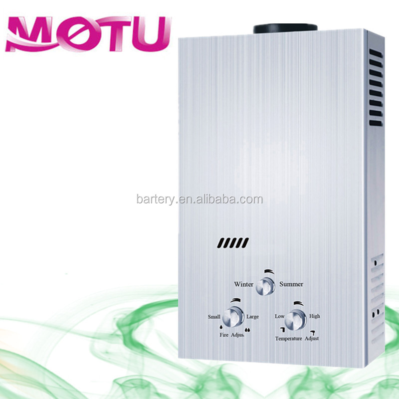 Chile portable tankless gas water heater with spare parts for hot shower & Camping MT-F13