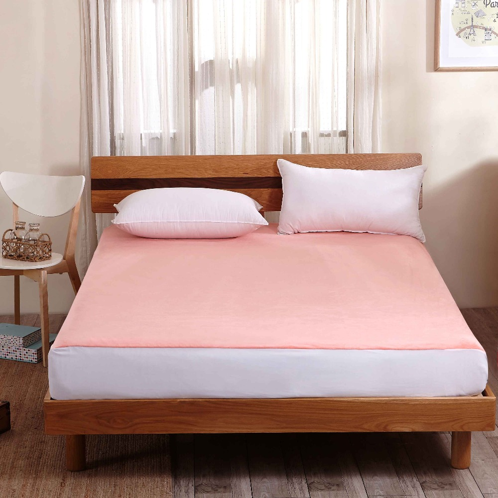 Wholesale Waterproof TPU 100% Cotton Foam Mattress Topper Cover