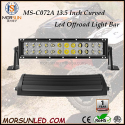 "13.5"" 72W 4x4 accessory Cre e Led Car Light, Curved Led Light bar Off road,auto led headlight"