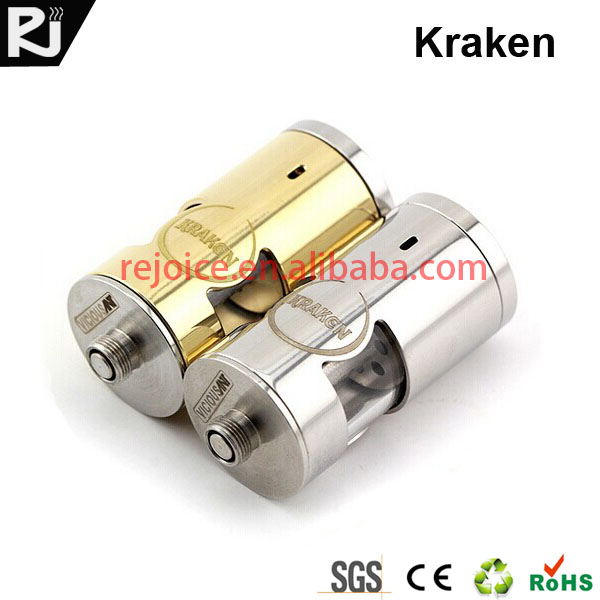 e cigarette hong kong KRAKEN rebuildable atomizer herb atomizer refillable e cigarette