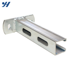 Zinc Galvanized Steel High Quality Building Materials Metal Welding Brackets With Holes
