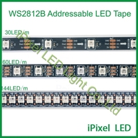 Black PCB dc5v flexible 30pcs ws2812b led strip