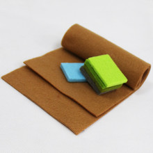 Hot selling factory 100% polyester upholstery needle punched felt nonwoven fabric