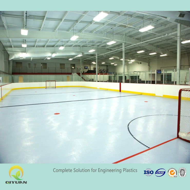 Virgin hdpe hockey dasher board/ portable ice floor/ HDPE hockey plastic sheet
