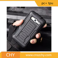 Hot selling armor hybrid belt clip case for samsung galaxy core prime g360