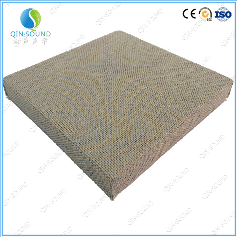 Noise Reflection High Absorption Coefficient Fabric Acoustic Panel