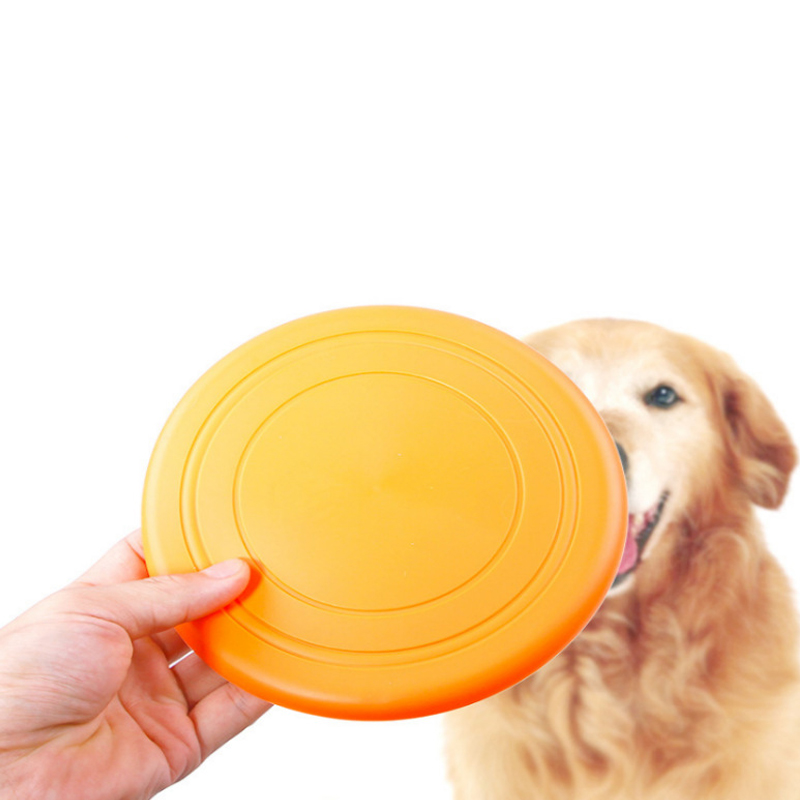 Training Fetch Toy Soft Dog Pet Silicone Frisbee