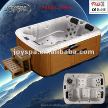 JOYSPA whirlpools spa hot tub for 3 person large outdoor spa pool
