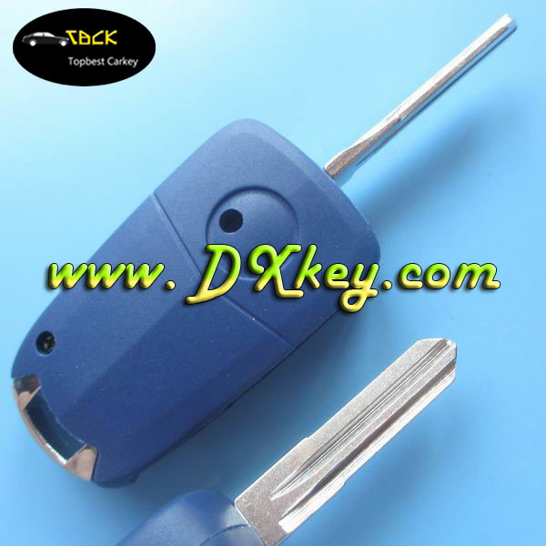 Best price modified 1 side button plastic allen key for fiat key shell fiat 500 key cover