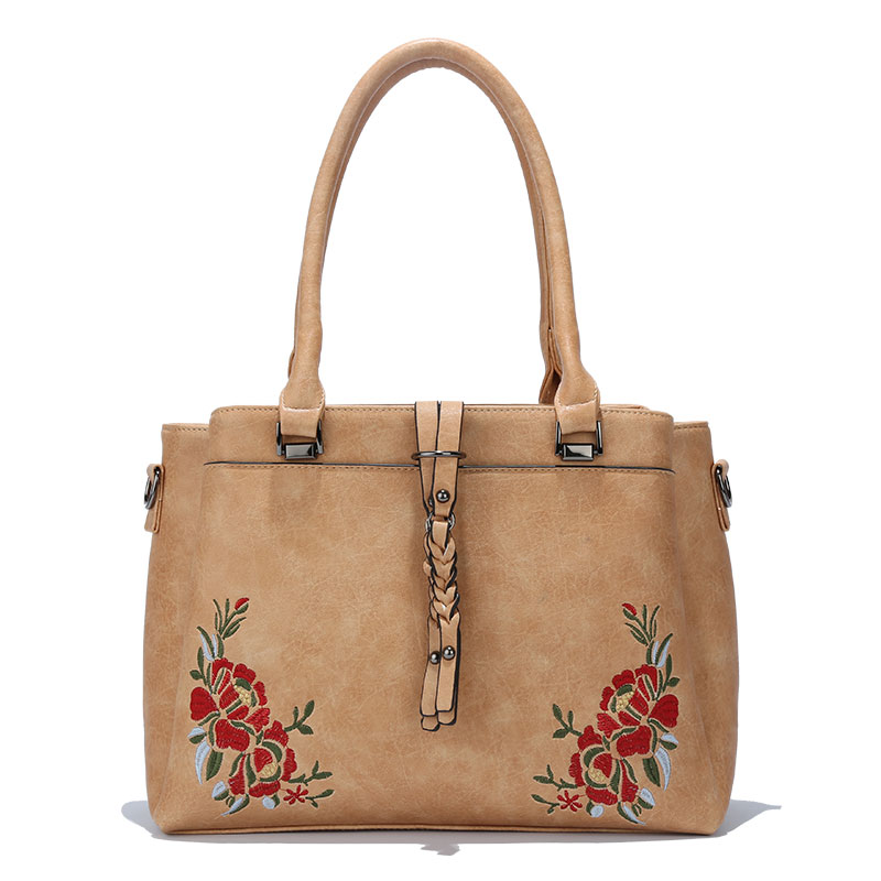 KKXIU famous brand ladies bags handbag pu leather embroidery handbag tote 2018 NEWEST <strong>DESIGN</strong>