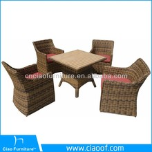 Colonial Style 4/6 Seats Synthetic Rattan Outdoor Furniture Jakarta