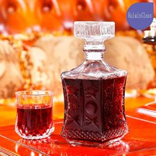 Wholesale colored glass wine decanter, glass decanter and decanter wine for banquet