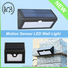 Good Product wall outdoor led gardens lamp integrated led solar wall light garden light solar