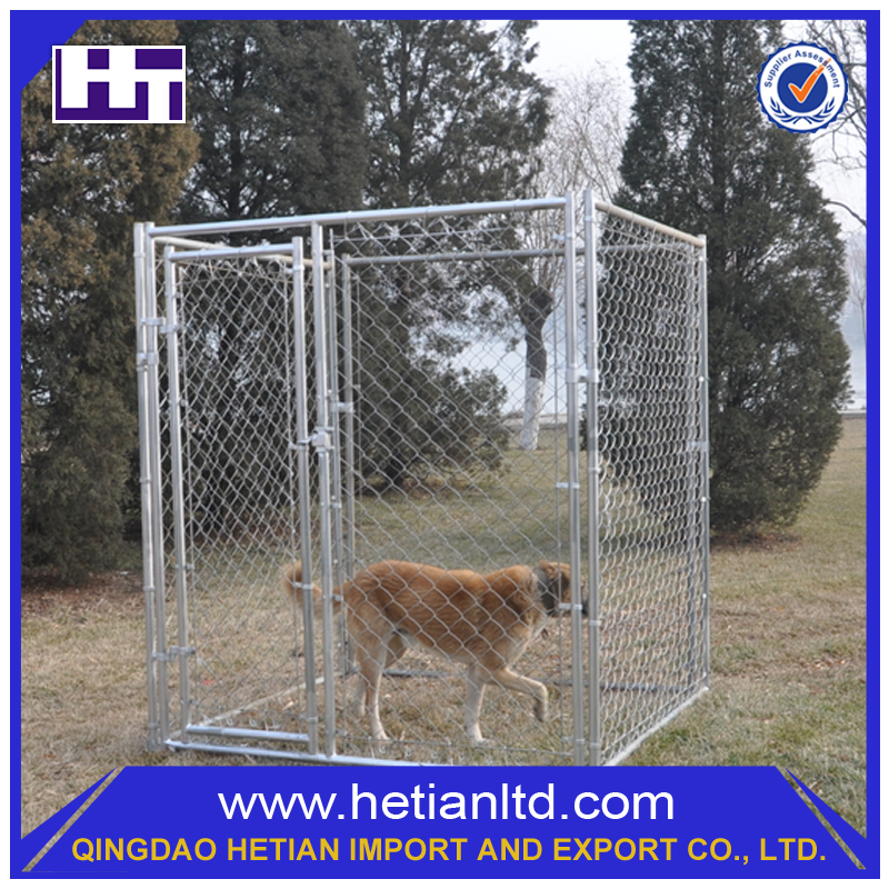 China Supplier Safe 6ft PVC Dog Kennel Cage