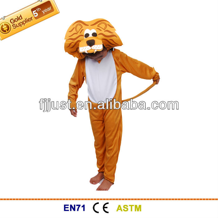 Funny kids tiger cartoon character mascot costumes for kids