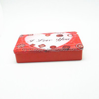 On line delivery popular rectangular guangzhou wholesale market gift boxes