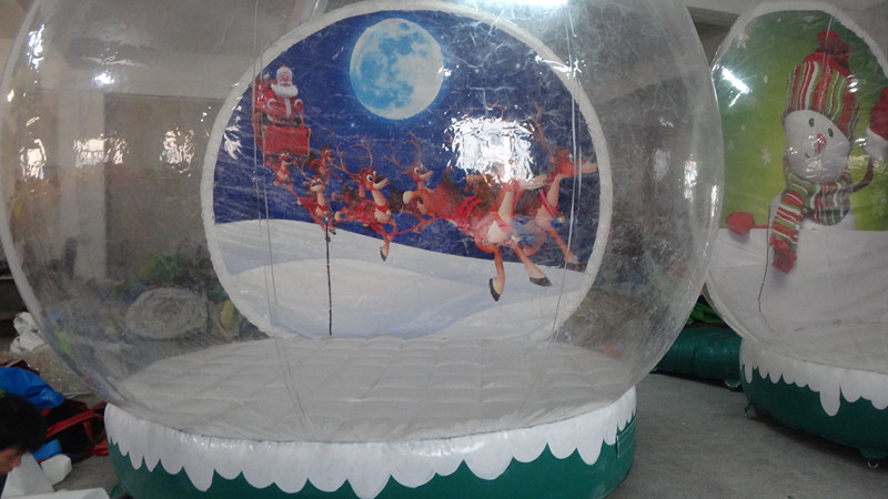 Wholesale giant snow globe inflatable christmas decoration for Cheap christmas decorations sale