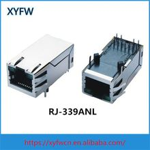 XYFWCONN Rs232 To Single Port Rj45 Adapter Female Connector 0826-1X1t-43