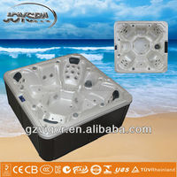 Factory price hot tub Balboa system massage outdoor luxurious portable whirlpool spa JY8015