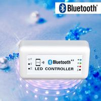 Smart Bluetooth waterproof RGB LED Controller for Smartphone/IOS/Android