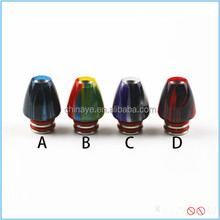 Colorful flower bud style resin drip tip cigar mouthpiece for pipe drip tip 510