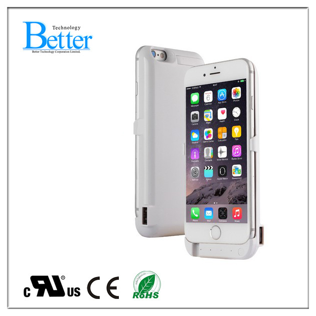Quickly external battery case 3000mAh power case for iphone 6 6s