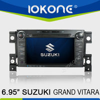 6.95 inch 2 din in dash touch screen car radio gps for suzuki grand vitara